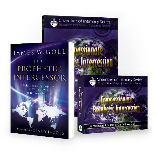compassionate prophetic intercession curriculum kit by james w goll rh godencounters com Powerful Prophetic Prayer Lines Intercessory Prayer